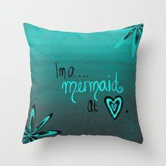 I'm a mermaid pillow