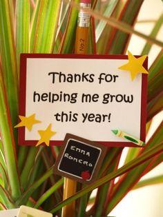 Gift Ideas for Teachers' aides