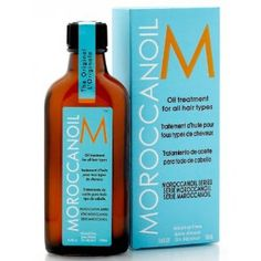 Moroccan Oil. Put a quarter size amount in your hair after your shower and throughout the day if it's dry and/or frizzy. One of my favorite products.