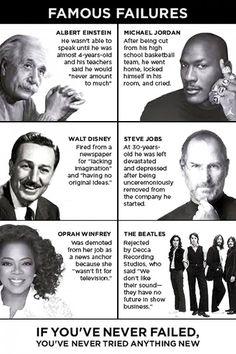 Everyone can fail...