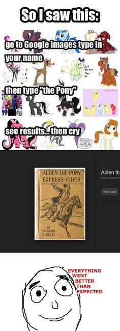 Alden The Pony Needs Some Fan Art