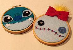 Lilo & Stitch Hoops