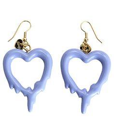 melty heart earrings