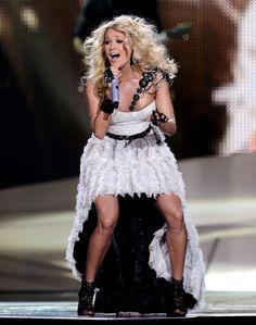 """Carrie Underwood singing """"Blown Away"""""""