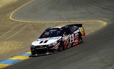 Tony Stewart - Sonoma Raceway - Day 2   6-22-13