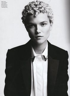 Patrick Demarchelier for Love Magazine ss2011 Wearing Balenciaga by Nicolas Ghesquiere