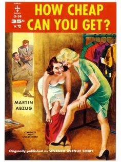 pulp book cover 1950