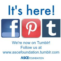 Our big announcement: The Foundation is on #Tumblr! Follow us at www.ascefoundation.tumblr.com