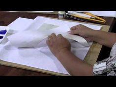 ▶ Mulher.com 17/04/2013 Julia Passerani - Pano de copa fundo texturizado Parte 1/2 - YouTube