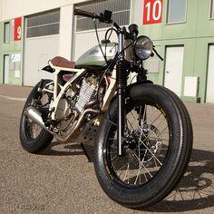 Honda NX650 custom motorcycle