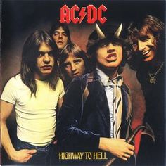 music, acdc, concert, roll, rock band, highway, hell, album cover, rocks