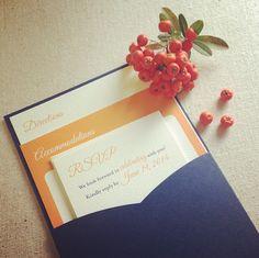 the backside of our preppy monogram clutch -- find it on instagram: http://instagram.com/p/fktnrju3it/     ||     #pocketweddinginvitation #weddinginvitations #wedding #preppy #organized #betweendesigns #thegreenkangaroo