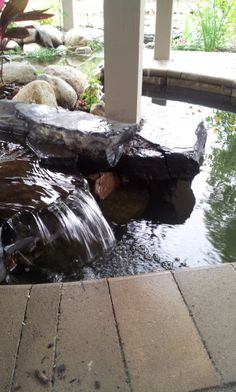 """Stream with waterfalls. Minnesota. Inspired Design Landscapes Inc.  """"from inspiration to installation!"""" www.idl-inc.com"""