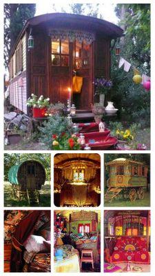 gypsy caravans boho bohemian camping glamping