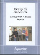 As a film maker living with a brain injury for the past twelve years, existing on both sides of the durra matter - often times simultaneously, I take the role as guide for the viewer into this foreign, often painful, and extraordinary land. DVD 277