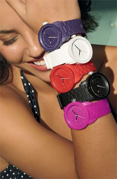 WATCHES http://shop.dropdeadgorgeousdaily.com/shop/rubber-watches-coloured/
