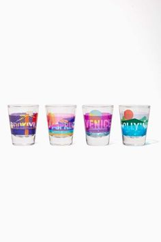 Perfect Destination Shot Glass Set