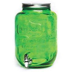 CIRCLEWARE YORKSHIRE COLORED BEVERAGE DISPENSER GREEN - 2 GALLONS