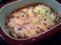 """Enchilada Casserole from """"29 Minutes to Dinner"""" Cookbook...available at www.pamperedchef.biz/cookingwithcora"""