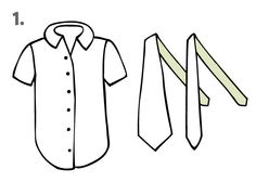 Learn how to transform a button-down shirt and ties into an adorable tank top. >> http://blog.diynetwork.com/maderemade/how-to/upcycle-an-old-shirt-and-ties-into-a-terrific-tank-top?soc=pinterest
