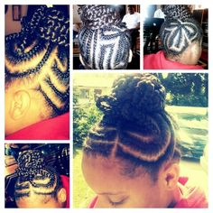 Childrens braids