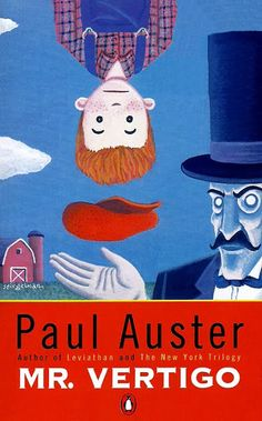 Paul Auster - Mr. Vertigo Omslag: Art Spiegelman Årtal: 1994 Förlag: Penguin Books