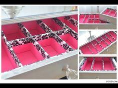 organization drawers, drawer organizer diy, makeup drawer organization diy, makeup drawers storage ideas, makeup diy organizer