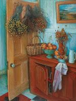 Margaret Olley, interior