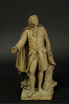Statuette du marquis de Tourny, photo mairie de Bordeaux