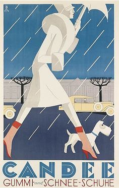Designer unknown, 1929, Candee, German version.