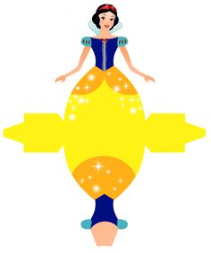Snow White - Free Printable Disney Princess Box