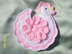 -agarraderas tejidas en crochet o baja ollas preciosas gallinitas ...