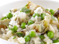 Artichoke Risotto Recipe : Giada De Laurentiis : Food Network - FoodNetwork.com