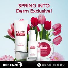 Spring into beautiful skin with Derm Exclusive