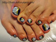 Fancy toe design