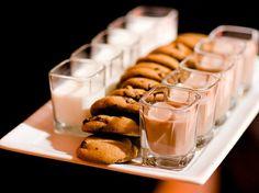 Cookies & milk shots