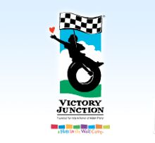 Victory Junction: Feel Your Heart Race. Built in honor of Adam Petty, Victory Junction provides life-changing experiences for kids with chronic medical conditions or serious illnesses.