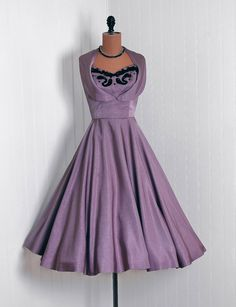 50's party dress