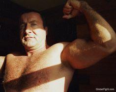 big arms huge biceps dad GLOBALFIGHT PROFILES