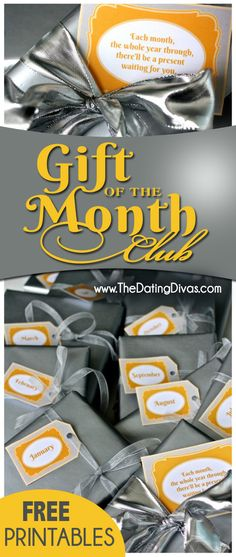 This is genius!  A gift that gives all year long.  I LOVE that you can totally customize it to fit whoever you're giving it to!  My hubby would love the 'Movie of the Month Club!'