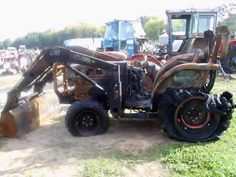 Kubota L3430 tractor salvaged for used parts. Call 877-530-4430 for the best selection of used ag parts. http://www.TractorPartsASAP.com
