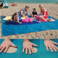 beach mat, sandless beach