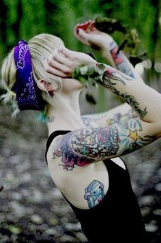Female Tattoo Robot