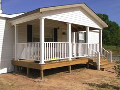 Mobile Home Porch Designs | On this page youll find the work we have done on porches. You can ...