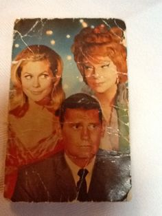 Bewitched Television Show Authentic Vintage Studio Promotional Fan Postcard (1960's).