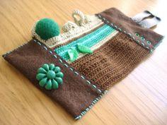 textile bracelet - www.kjoo.etsy.com
