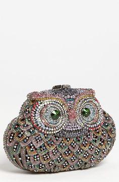 Owl clutch - love!!!