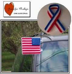 Free Basketball Plastic Canvas Patterns   Free Patriotic Support Ribbon and Antenna Flag Plastic Canvas Pattern