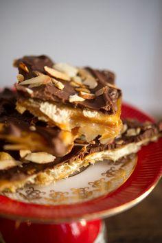 Lue Belle's: Saltine cracker toffee (easy!)