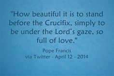 Do stand there, and enjoy His glory! Read more at: www.twitter.com/pontifex cup
